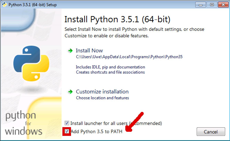 python.org download 3.5